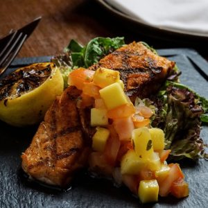 GRILLED ATLANTIC OCEAN SALMON