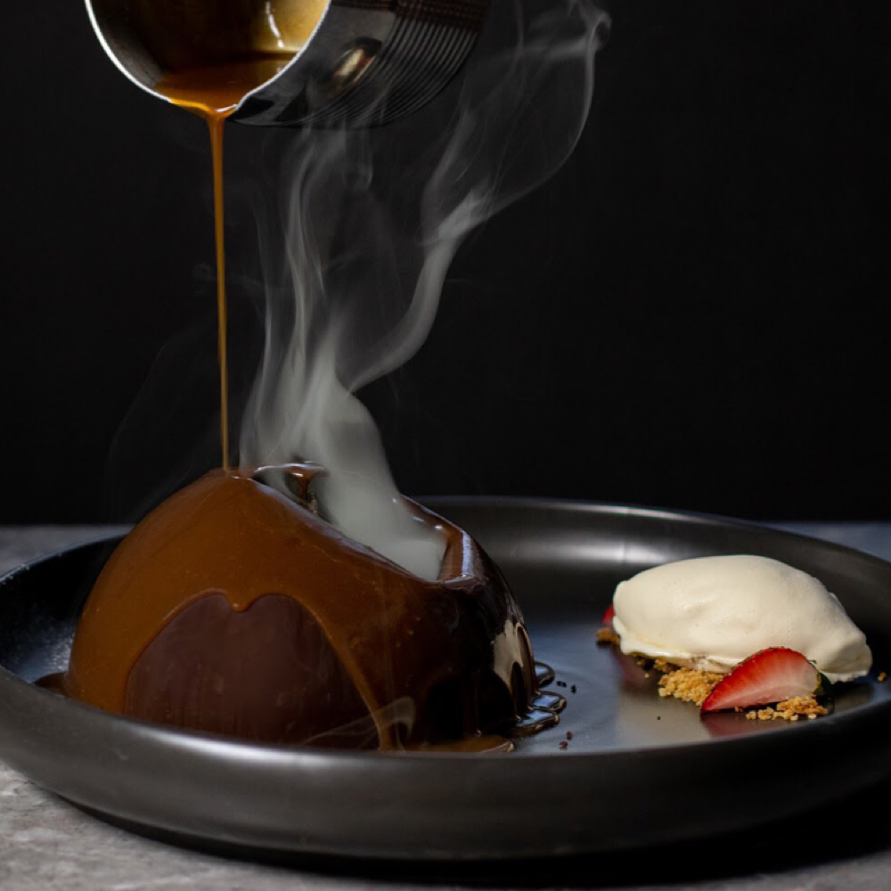 nextprevious  Caramel, Chocolate, berries. ]fine dining ]desserts ]sweet  HK$118