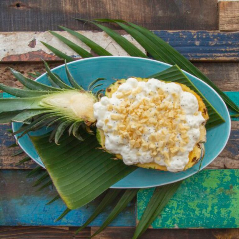 Thai Style Caramelized Pineapple