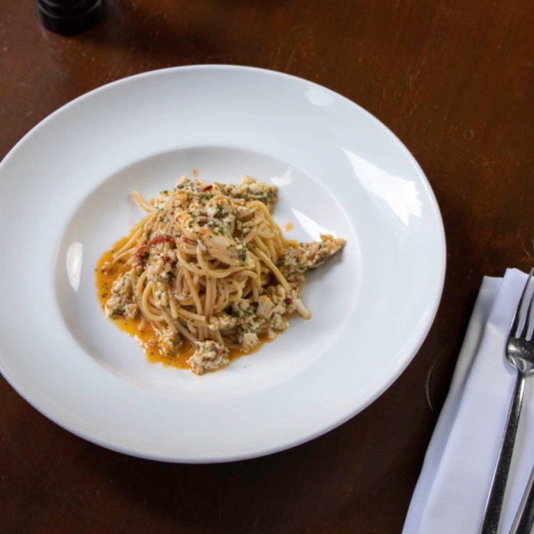 Spaghetti, Ragu di Granchio