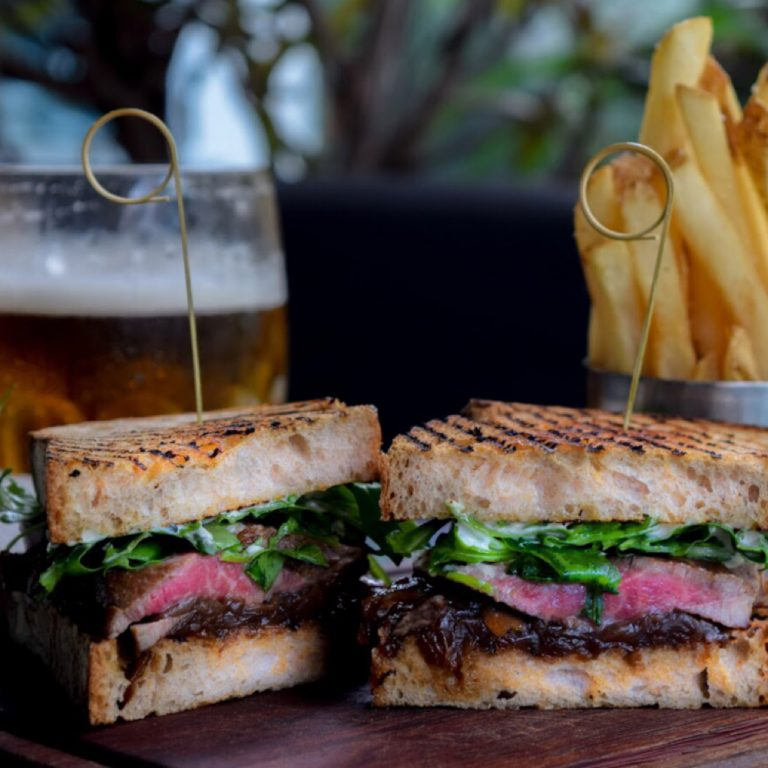 Aberdeen Angus Steak Sandwich