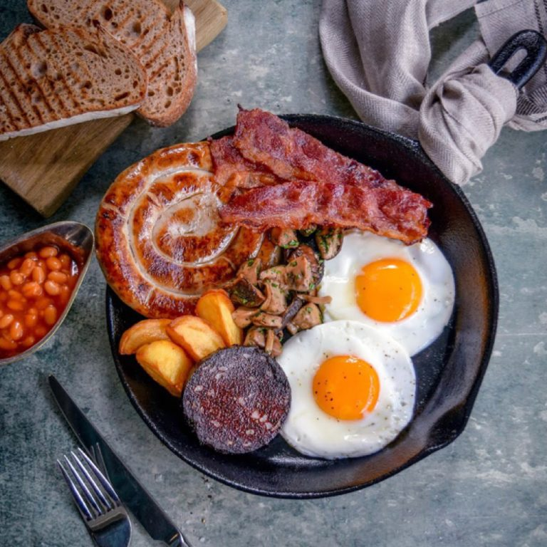 Aberdeen Street Social full English Breakfast