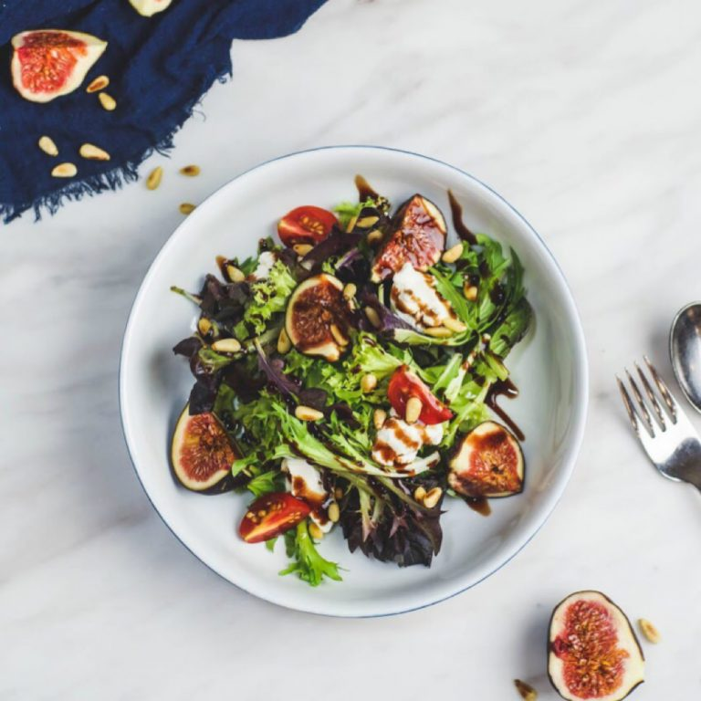Figs & Ricotta Salad