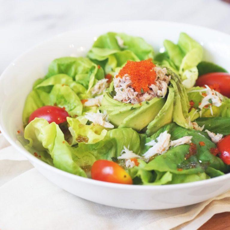Crabmeat Avocado Salad