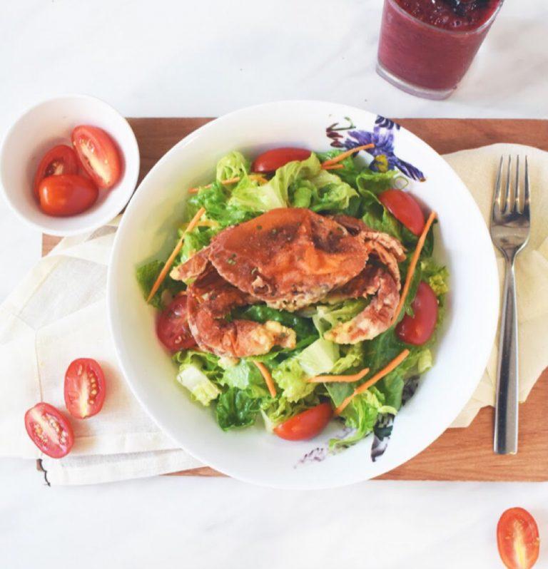 Thai Style Soft Shell Crab Salad