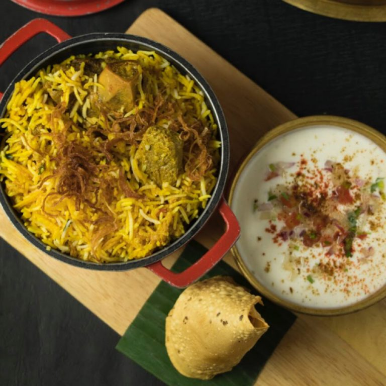 Hyderabady Mutton Biryani