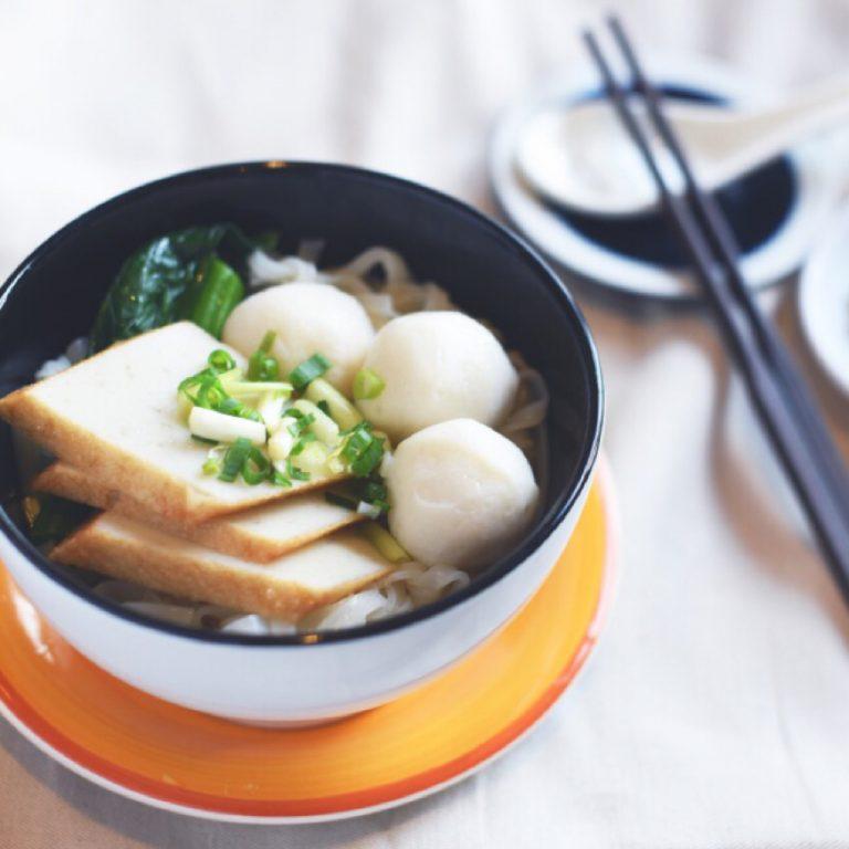 Fish Balls Noodles Soup