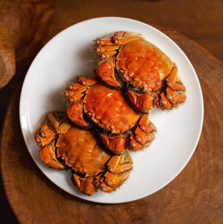 Steamed Hokkaido Hairy Crab