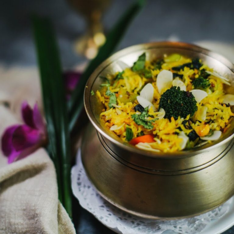 Pulao with Mixed Vegetables