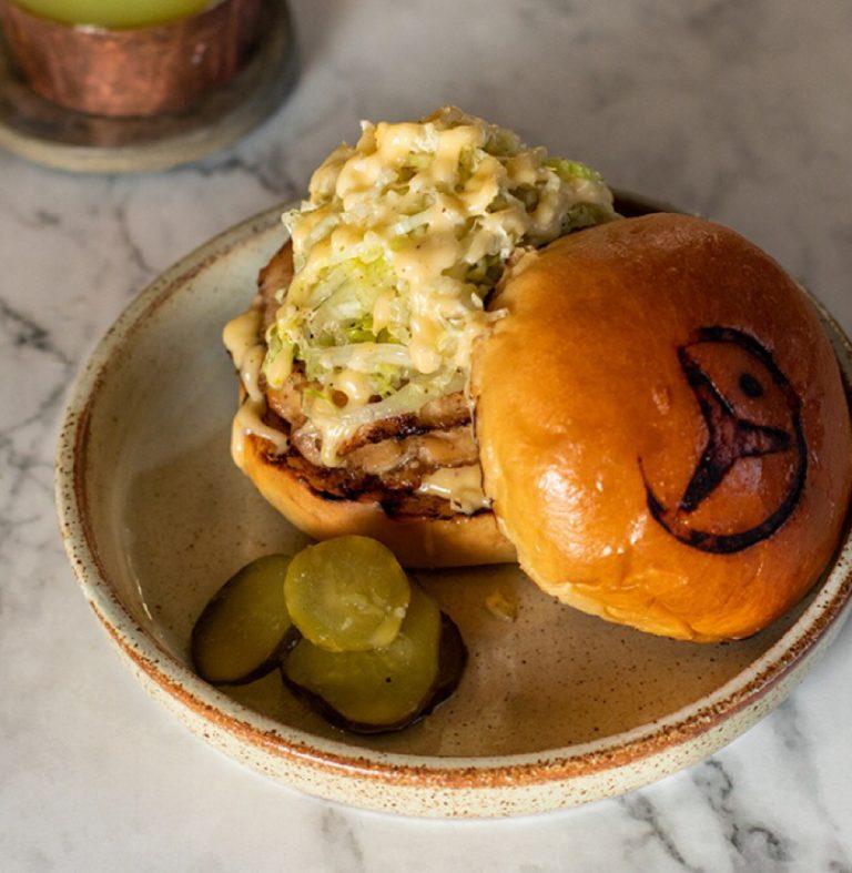 Grilled Free-Range Chicken Burger