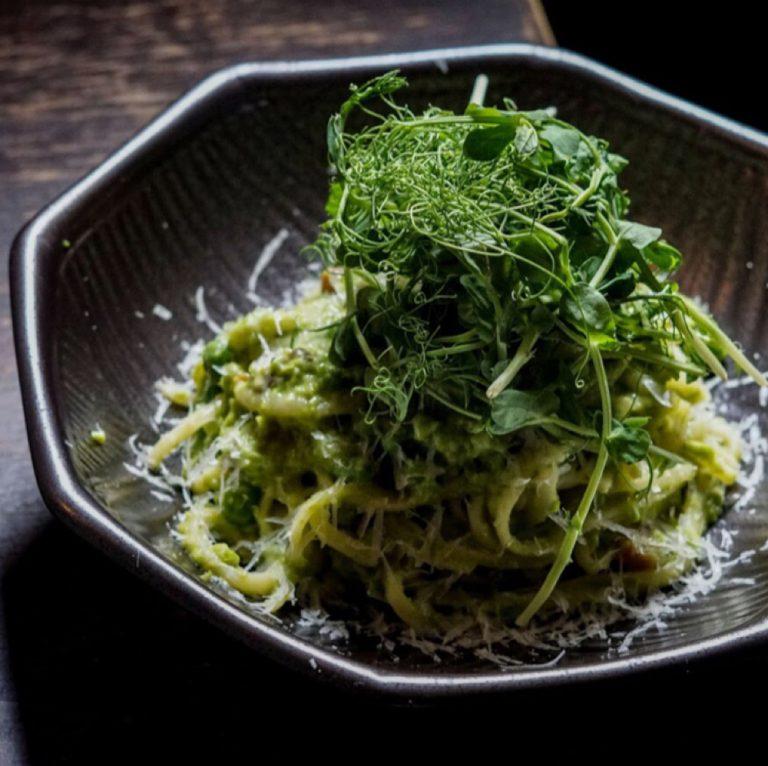 Pea & Pancetta Linguine