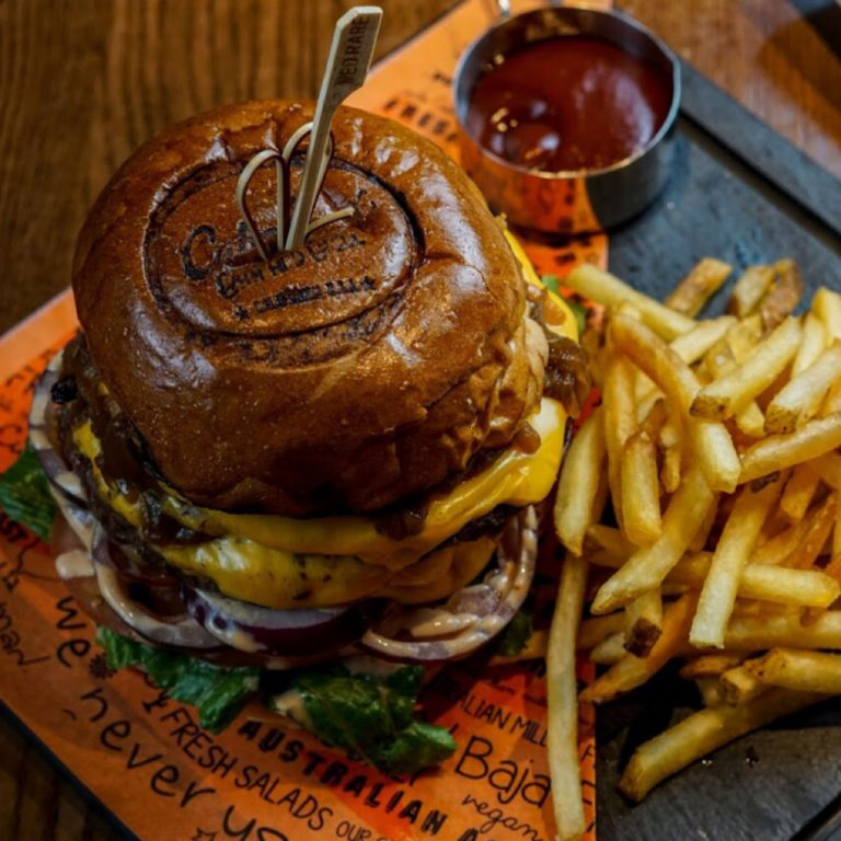The Yankie Burger