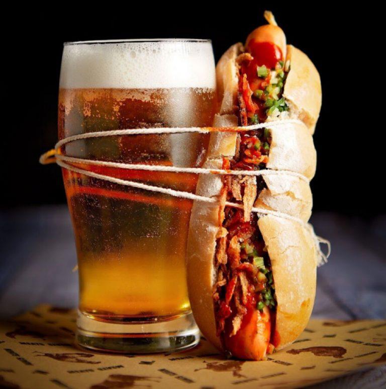 Happy Hour Deluxe Hotdog