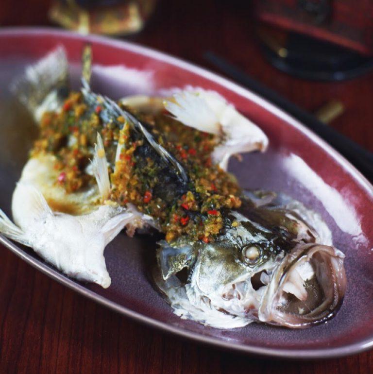 鮮椒蒸原條桂花魚
