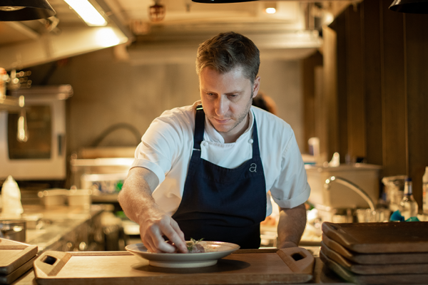 Chef Keith Hooker of Aberdeen Street Social