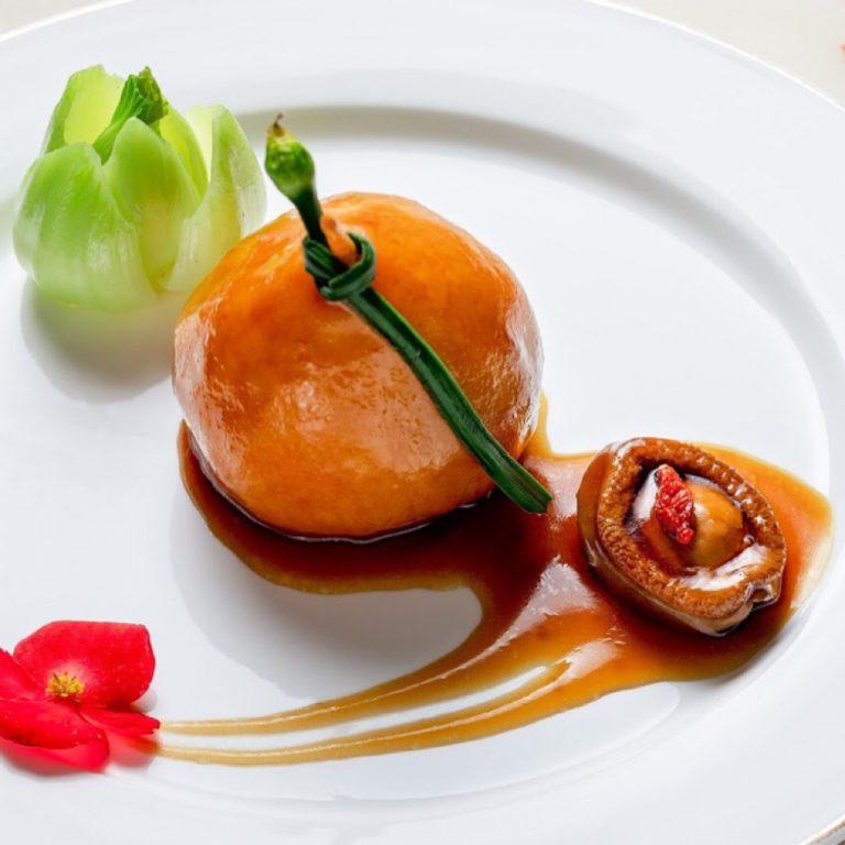 Abalone & Pork Stuffed Pear
