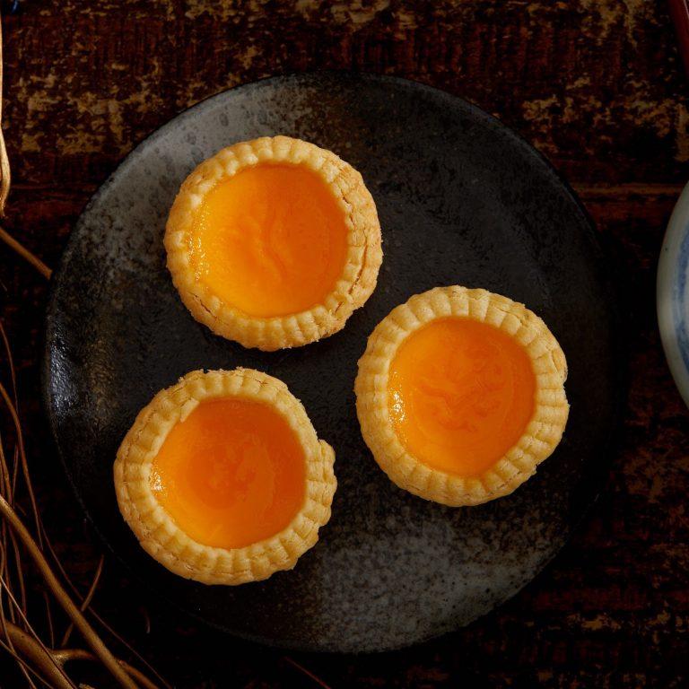 Flaky Egg Tart
