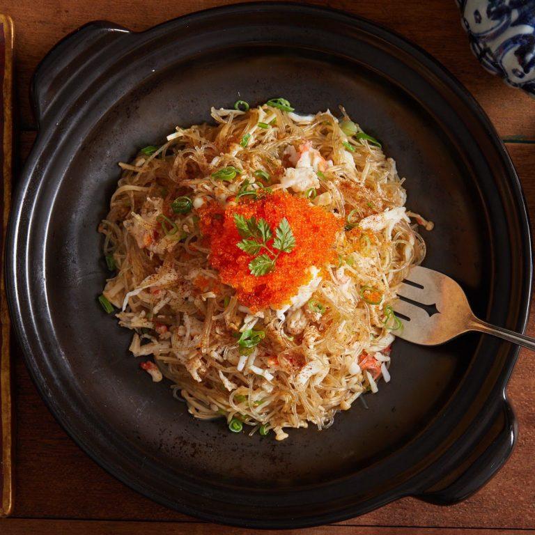 Alaskan Crabmeat Fried Rice