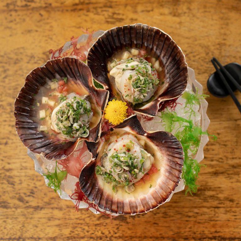 Hokkaido Scallop & Oyster