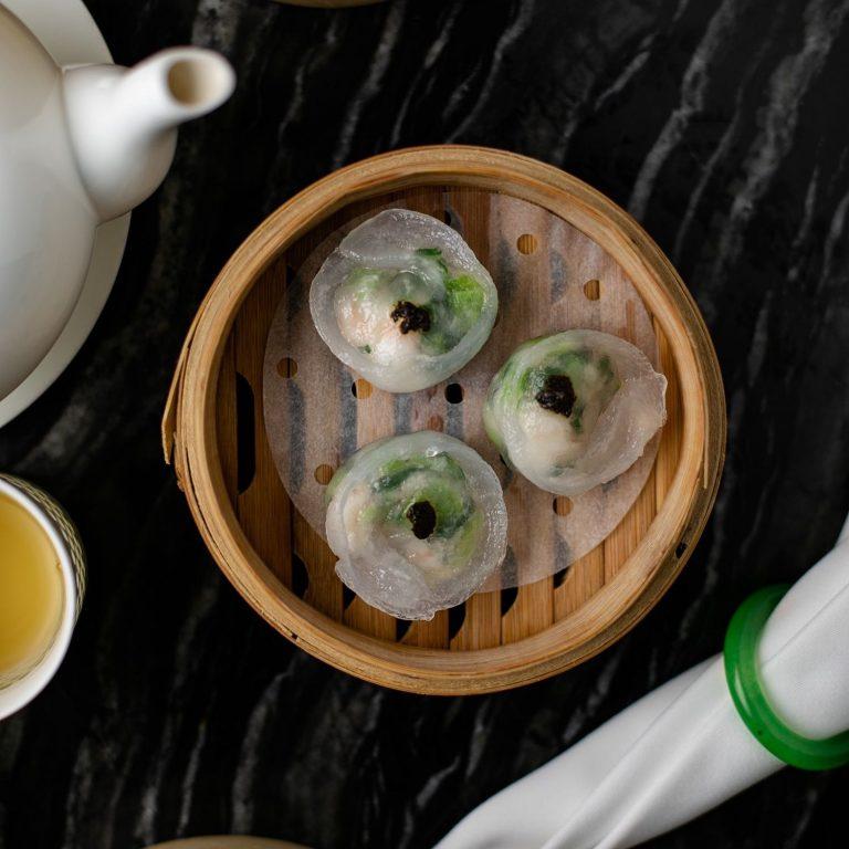 Seafood and Black Truffle Dumpling