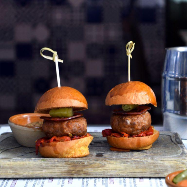 Ibérico Pork & Chorizo Burgers