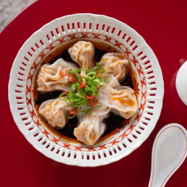 Wonton in Chilli Sauce
