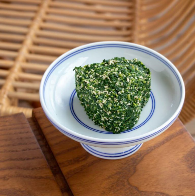 Finely Minced Malantou and Pressed Bean Curd