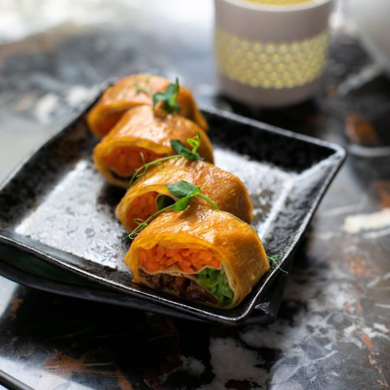Smoked Bean Curd Roll
