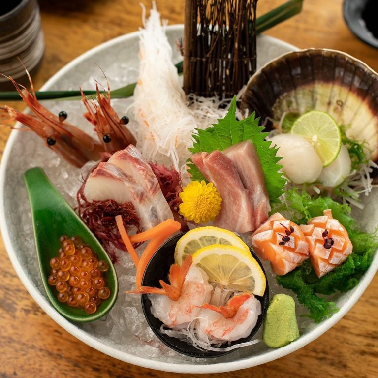 Chef Selection of Sashimi Platter