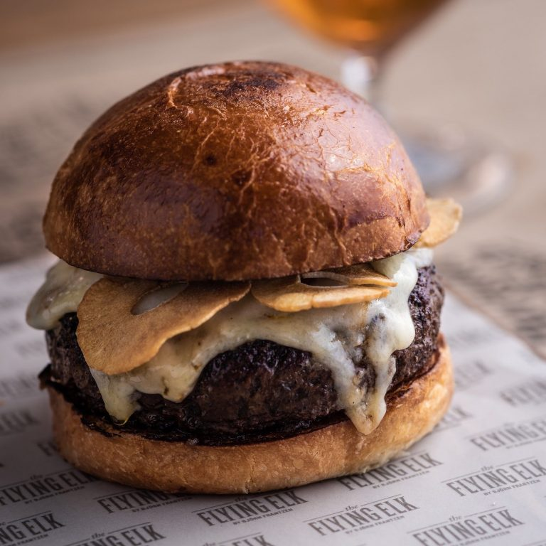 """""""Frenchie"""" Beef Burger"""