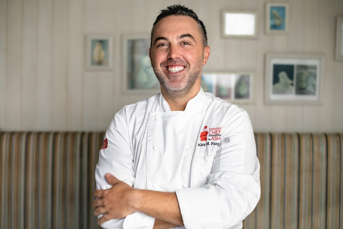 chef alex fargas from fofo dishtag