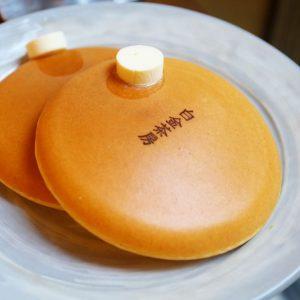 Pancake shot @白金茶房, Japan